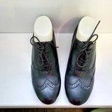 Туфли броги кожаные Marks&Spencer, р. 37-37,5.