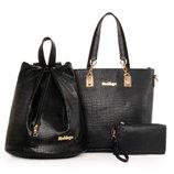 Восхитительный набор 3в1 сумка рюкзак косметичка В Наличии