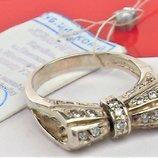 Кольцо перстень новое серебро 925 проба 5,22 грамма размер 17