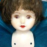 Голова от фарфоровой куклы ,Германия.