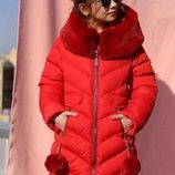 р.42 на рост 158-164 Ясмин зимняя куртка пальто пуховик Nui Very