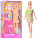 Лялька DEFA 8350 вагітна, пупс, ванна, горщик, аксесуари, 2 види, кор., 20-32-5 см.