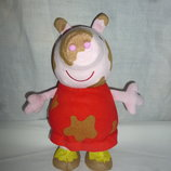 Свинка пеппа интерактивная прыгающая peppa pig