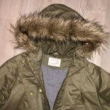 Демисезонная куртка парка Zara 11-12 лет
