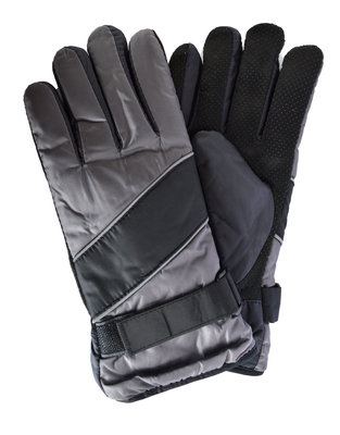 Мужские перчатки на плюшевой подкладке