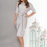 Элегантное Праздничное платье полуоблегающего силуэта 44-54р
