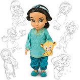 очаровательная кукла принцесса Disney Animators Жасмин Сша оригинал 41 см