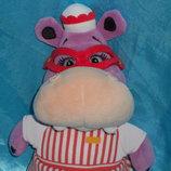мягкая игрушка Бегемотиха Хэлли Disney Doc McStuffins Disney store Англия оригинал