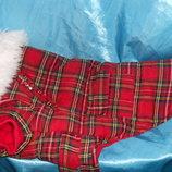 роскошное двухстороннее теплое пальто MacGregor на домашнего любимца Urban Pup р.XL