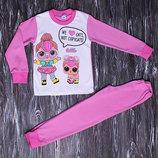 Пижама с принтом куколок Лол с питомцем