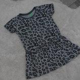 Леопардовая туничка на девочку 5-6 лет