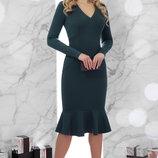 Шикарное вечернее базовое платье Василина Д/р ткань джерси скл.2