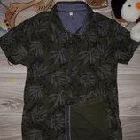 M&S Стильная рубашка 8-9 л 134 см сток
