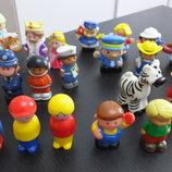 фигурка человечек король королева космонавт полицейский фермер медсестра Mattel Маттел