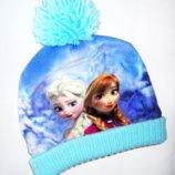 Демисезонная шапка Холодное Сердце Disney 3-6 лет