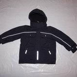 р. 92-98-104 лыжная куртка сноуборд Polarn O. Pyret, теплая зимняя куртка