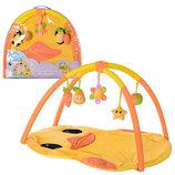 Развивающий коврик для младенца Цыпленок с дугами T203-D1194