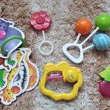 Іграшки для немовлят/ игрушки для новорожденных, для прорізування зубів