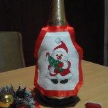 Фартук фартух для бутылки шампанского