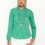 Зеленая женская блузка MA&GI