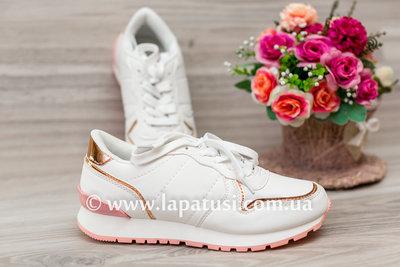 Кроссовки р.28-34, кросы, кеды, кросики,красовки на девочку, белые