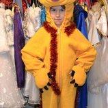 детский карнавальный костюм мишка с мапет шоу на 3-4 года