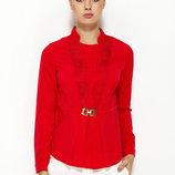 Красная женская блузка MA&GI