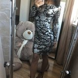 Мега крутое нарядное женское фирменное вечернее платье паетки ZARA