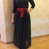 Чудове шифонове плаття 46р