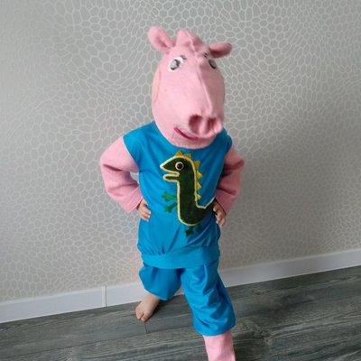 Прокат детский карнавальный костюм поросенок, свинья, Поросятко Свинка Джордж peppa поросенок Киев