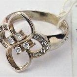 Кольцо перстень новый серебро 925 проба размер 18.5 вес 3.53 гр.
