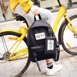 Модный тканевый рюкзак Hey В Наличии