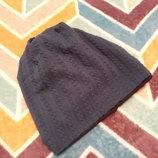 Крутая шапочка бирюза на 2-3 года