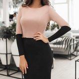 Стильное женское платье 2 цвета