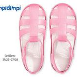 Impidimpi розовые пляжные сандали для малышки р.25/26