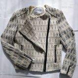 Котоновая куртка-косуха Pull&Bear
