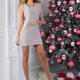 Стильное платье 4 цвета