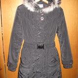 Теплая зимняя куртка пальто