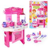 Детская кухня Limo Toy 008-26 свет звук дитяча кухня игровой набор