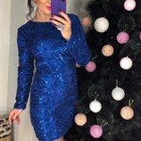 Платье вечернее с пайеткой, 0426