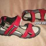 Стильные кожаные мужские сандалии в спортивном стиле