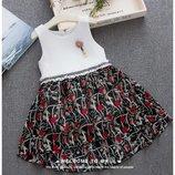 Красивые платья для девочек р.100,110