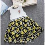 Красивые платья для девочек р.90-120