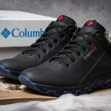 Зимние ботинки на меху, черные 30952