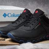Зимние ботинки на меху, черные 30694