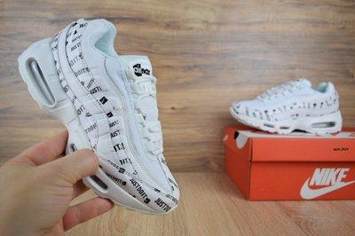 la moitié e86ee 59589 Кроссовки женские Nike Air Max 95 JD white