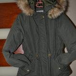 Стильная и добротная куртка-парка от Vero Moda. Размер S.