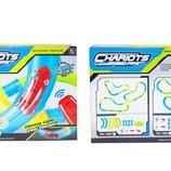 Трубопроводный автотрек Chariots Speed Pipes 16 деталей трека, зарядка, шарик, машинка и пульт