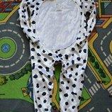 Новогодний костюм долматинца собаки на 4-5 лет