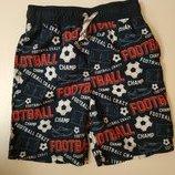 Красивые шорты с плавочками в футбольный принт george на 8-9 лет